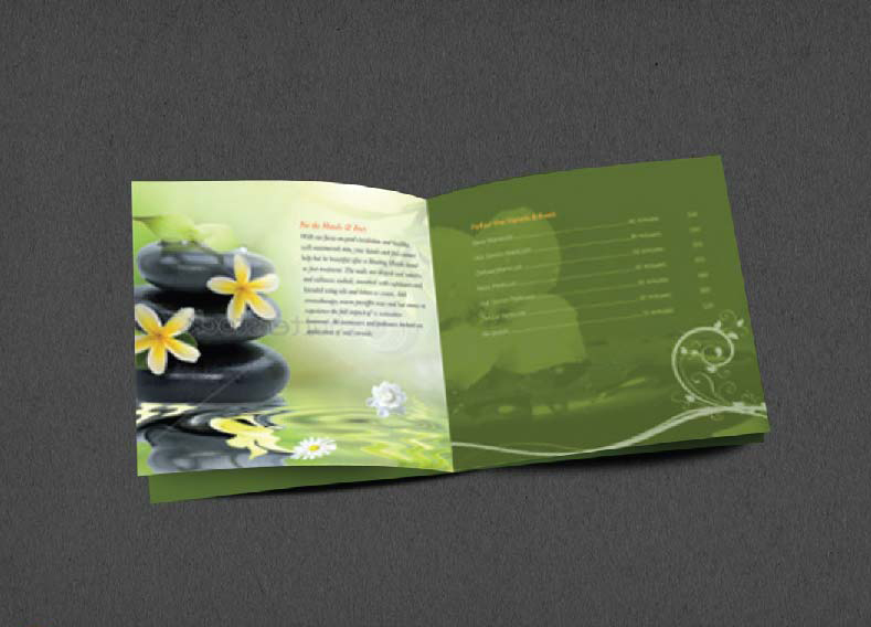 Brochure Design Company in Kolkata - SPA Brochure -3