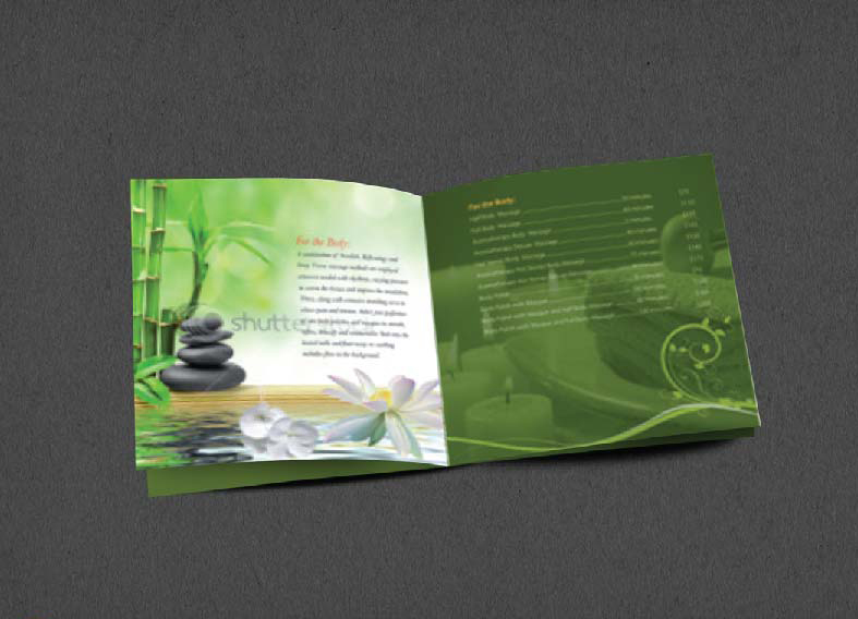 Brochure Design Company in Kolkata - SPA brochure - 4