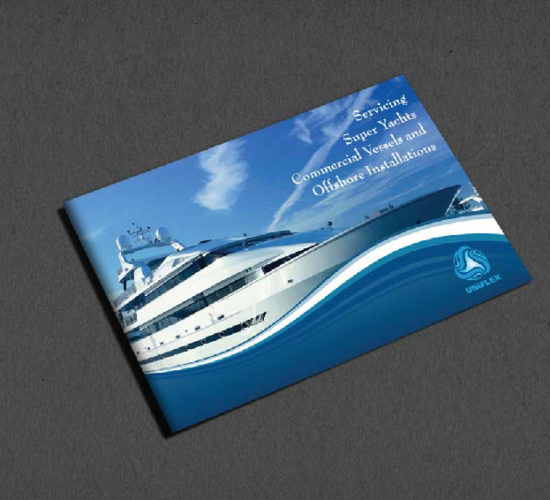Brochure Design Company in Kolkata - ship company brochure -1