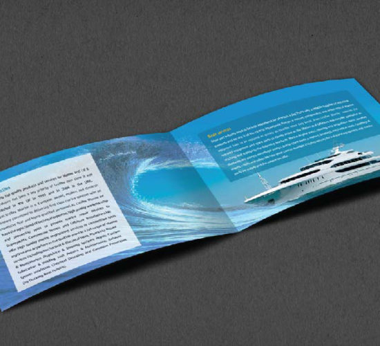 Brochure Design Company in Kolkata - ship company brochure -2