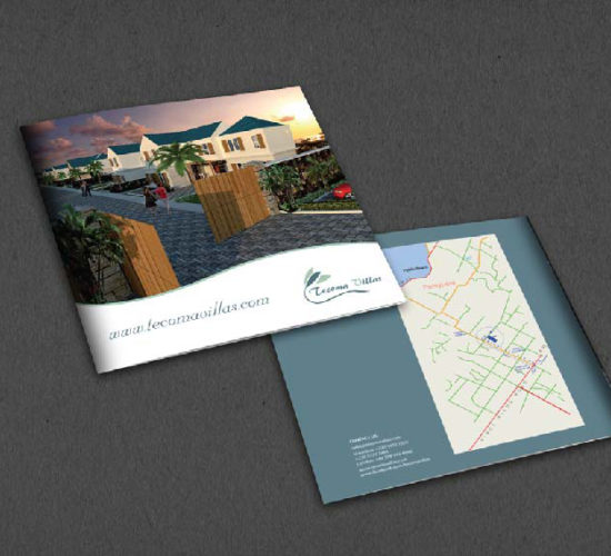 Brochure Design Company in Kolkata - real estate brochure -1a