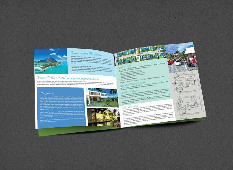 Brochure Design Company in Kolkata - real estate brochure -1b