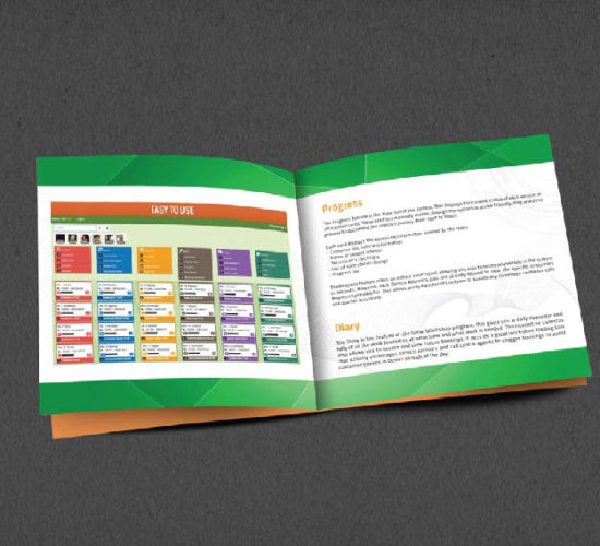 Brochure Design Company in Kolkata - Software company brochure -1d
