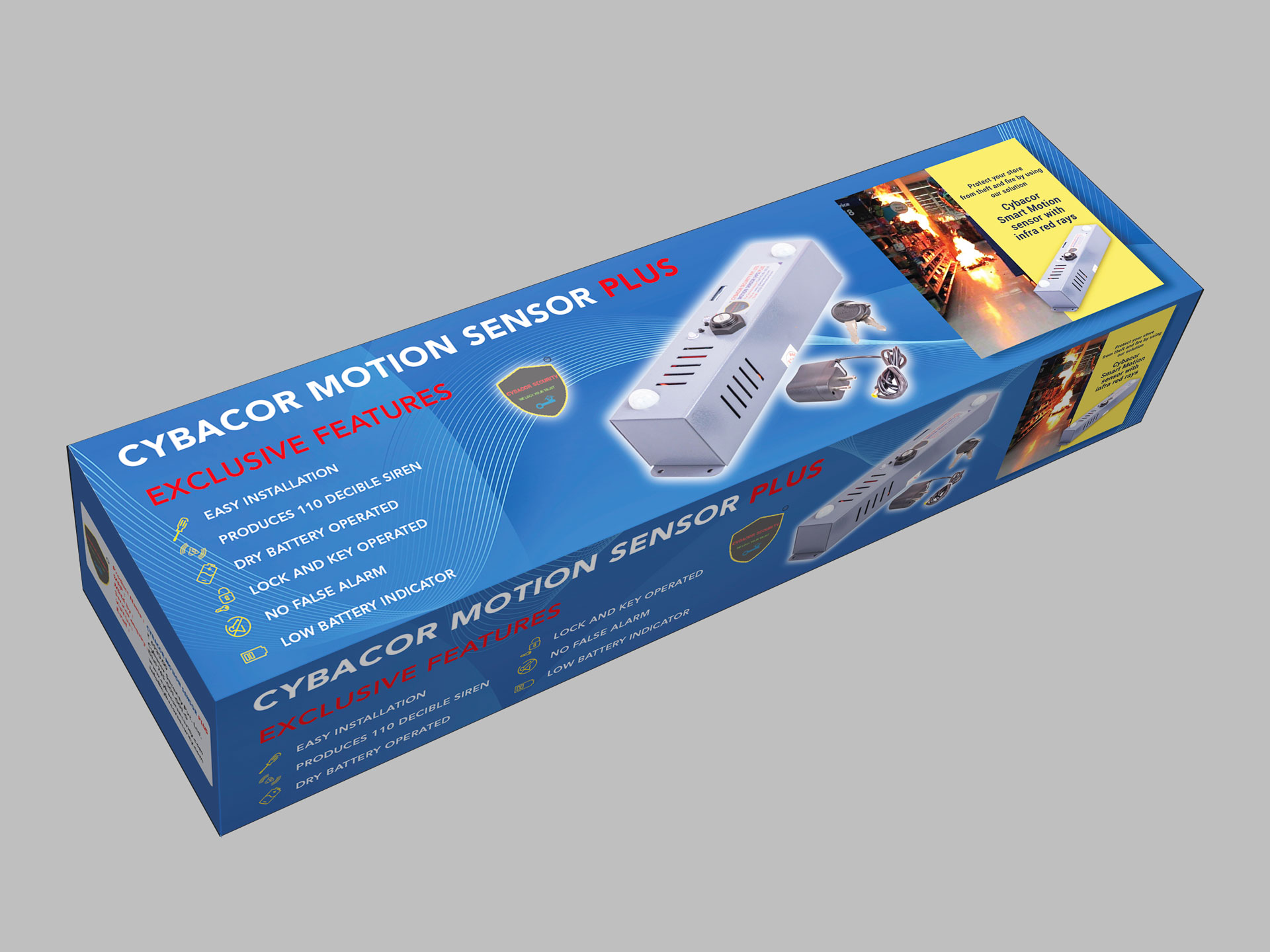 Industrial Packaging (Motion Sensor)