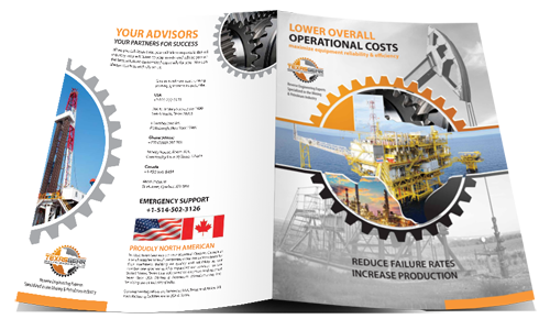 Graphic Design - Website Design - engineering brochure design